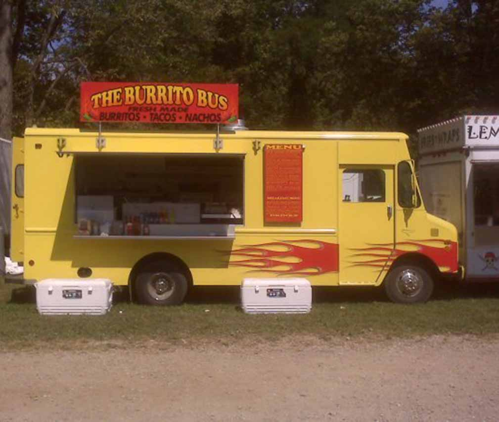 Burrito Bus Food Truck Zanesville Ohio Zanesville Jaycees Food Truck Rally