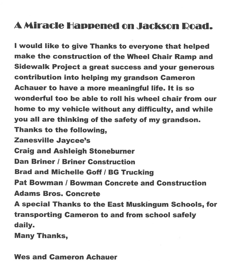 Jackson Road Miracle Cameron Achauer 1 5