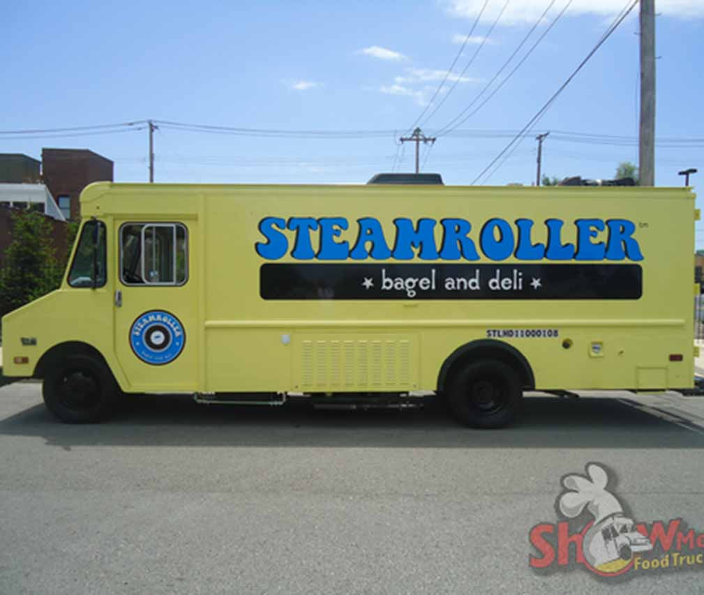 Steam Roller Bagel Zanesville Ohio Zanesville Jaycees Food Truck Rally